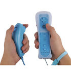 Built in Motion Plus Remote and Nunchuck Controller+Case for Classic Wii & Wii U