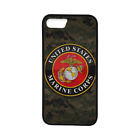 US Marine Corps USMC TPU Case Cover for iPhone 8 8+ 7 Plus 6 Galaxy S8 S8+ S7 S6