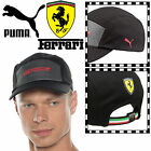 PUMA Scuderia Ferrari Baseball Cap Adults Unisex Adjustable Motor Sports F1 Hat
