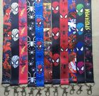 Lot Mixed Spider-man Mobile Cell Phone Lanyard Neck Strap Party Gifts P150