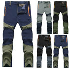 Stylish Mens Outdoor Hiking Cycling Climbing Trousers Tactical Cargo Pants L-4XL