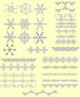 Bluework Borders & Wreaths Machine Embroidery Quilting CD- By Anemone Embroidery