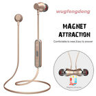 T5S V4.2 Wireless Bluetooth Stereo Headphones Magnetic Sports Earphones with Mic