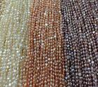 choose color Jewelry making 1Strand Natural Freshwater Pearl Shaped Beads 3-9mm