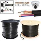 100M & 305M RG59 CCTV Shotgun Coaxial Cable Security Camera DVR System Video DC