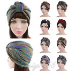 Women Full Cover Hijab Caps Indian Turban Chemo Hair Loss Headwear Ladies Hats