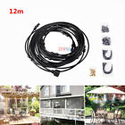 Outdoor Misting Cooling System Fan Cooler Patio Garden Water Mister Mist Nozzles