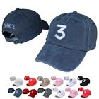 Chance The Rapper 3 Dad Hat Adjustable Embroidery Hip-Hop Baseball Cap Hot Sale