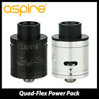 Original 0Aspire Quad Flex Power Pack RDA/RDTA Tank & Replaceable U-Tech Coil