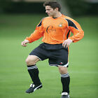Precision Training Olympico Football Shirt / Jersey Tangerine/Black/White rrp£18