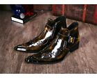 Fulinken 2 Color Size 5-12 Leather Western Ankle Boots Casua
