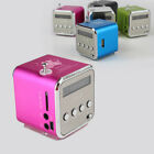 MP3 Player Mini-Lautspr Elektronik LCD Speaker Radio Lautsprecher USB Musik Box