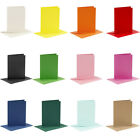 6 Assorted Colour A6 Cards and Envelopes - Card Making Crafts