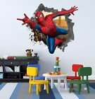 3D Spiderman 2001 Wall Murals Wall Stickers Decal Breakthrough WALLPAPER AU