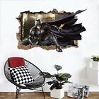 3D Handsome Batman Wall Murals Wall Stickers Decal Breakthrough AJ WALLPAPER AU