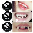 2 Pcs Halloween Scary Vampire Fangs Teeth Tooth Cap Fright Night Werewolf Fangs