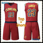 Top & Shorts LeBron James #23 LBJ Cleveland Cavaliers NBA Jersey Youth Adult Kid