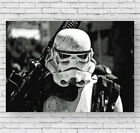 Storm Trooper Movie Poster, Star Wars, Large Wall Art, Photo, Print, #052