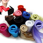Yoocart Soft Silk Square Scarf Small Plain Neckerchief Head Neck Headband