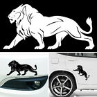 """Personality """"The lion"""" Car Warning Reflective Sticker Graphics Decal White/Black"""