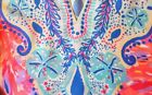 New Lilly Pulitzer RENATO Silk TUNIC TOP S / M Palm Beach Coral Dinner NWT