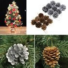 Christmas Gold Pine Cones Baubles Xmas Tree Decorations Ornament Gift Home Decor