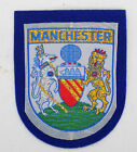 Sampsons Woven Manchester Felt Badge Available In Blue Or Red