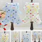 Colorful Dots Hoodie Puppy Pet Dog Cat Winter Warm Coral Velvet Pajamas Clothes