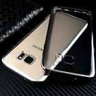 Ultra Thin Clear Samsung Galaxy Phone Case Transparent Solid Soft Protect Cover
