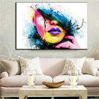 New Home Beauty Face Painting Canvas Art Printing Picture Frameless Abstract