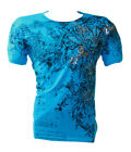 Konflic NWT Men's Winged Arrow Graphic MMA Muscle T-shirt