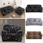 Slipcover Flower Printed Stretch Fit Sofa Loveseat Couch Cover Living Room Decor