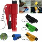 Mini 3in1 Car Emergency Safety Hammer Glass Window Breaking Escape Keychain Tool