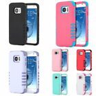 For Samsung Galaxy S7 3 Pieces Hybrid Dual Layer Shockproof Back Case