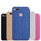 Flip Leather Wallet For Xiaomi Mi 5X / A1 Slim Matte Stand Full Cover Soft Case