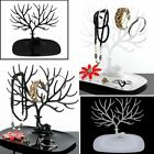 Jewelry Holder Display Stand Earring Ring Tree/Wall Hanger Necklace Storage Rack