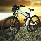 26'' 27 Speed Foldable Electric Power Mountain Bicycle with TXCL