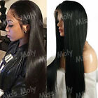 Dyed&Bleached Brazilian Real Human Hair Wig Lace Front Wigs Long Light Yaki BF61