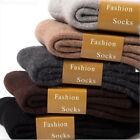 Wool Cashmere Comfortable Thick Socks Mens Winter Outdoor Sports Socks