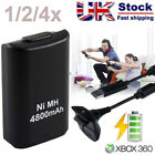 4800mAh Rechargeable Battery USB Charger Cable for Xbox 360 Wireless Controller