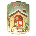 Christmas Printed Wooden Wall Plaques, 16-Inch x 24-Inch