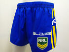 Parramatta Eels Men's Football Shorts NRL Rugby League - Half Price
