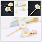 Girls Poached Egg Hair Clips DIY Elegant Hairpin Decoration Hair Accessories