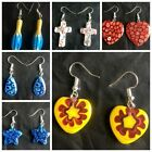 Hot Fashion mixed style heart Millefiori Lampwork Glass Murano