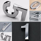 Modern Plaque Number House Hotel Door Address Digits Sticker Plate Sign