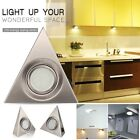Kit LED Kitchen Under Cabinet Cupboard Kitchen Triangle Light Cool Warm White UK