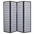 screen panel - 4 Panel Japanese Oriental Room Divider Hardwood Shoji Screen Privacy Wall S704