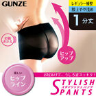 GUNZE Japan Stylish Pants Hip Up Abdomen Cincher Shaping Shorts Underwear D17