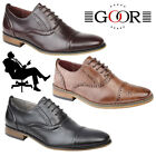 Goor 'Grantham' Kids Oxford Brogues Boys Girls Smart Formal Back To School Shoes