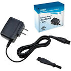 HQRP AC Adapter / Charger for Philips Norelco Series Shavers + Cleaning Brush